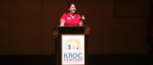 Omaha Empowerment Breakfast at the KROC cetner, emcee. Omaha's small business networking event