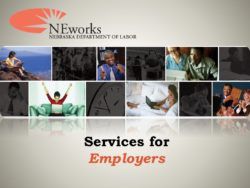 Presentation by The NE Dept. of Labor
