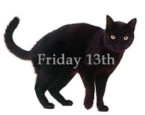 Friday the 13 black cat artwork. Omaha Empowerment Breakfast, Omaha networking