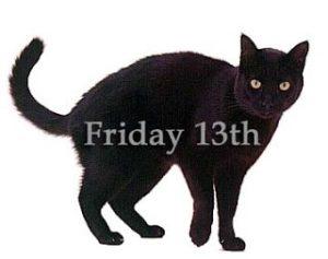 Friday the 13 black cat artwork. Omaha Empowerment Breakfast, Omaha networking