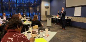 Omaha Empowermenet Breakfrast Ken Hensel with the Bellevue Chamber